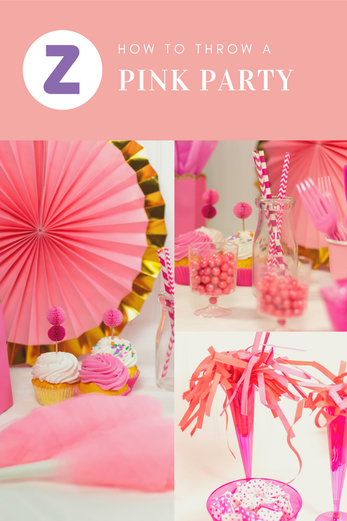 how to throw a pink party