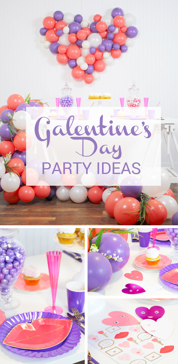 Galentine's Day Party Ideas!!
