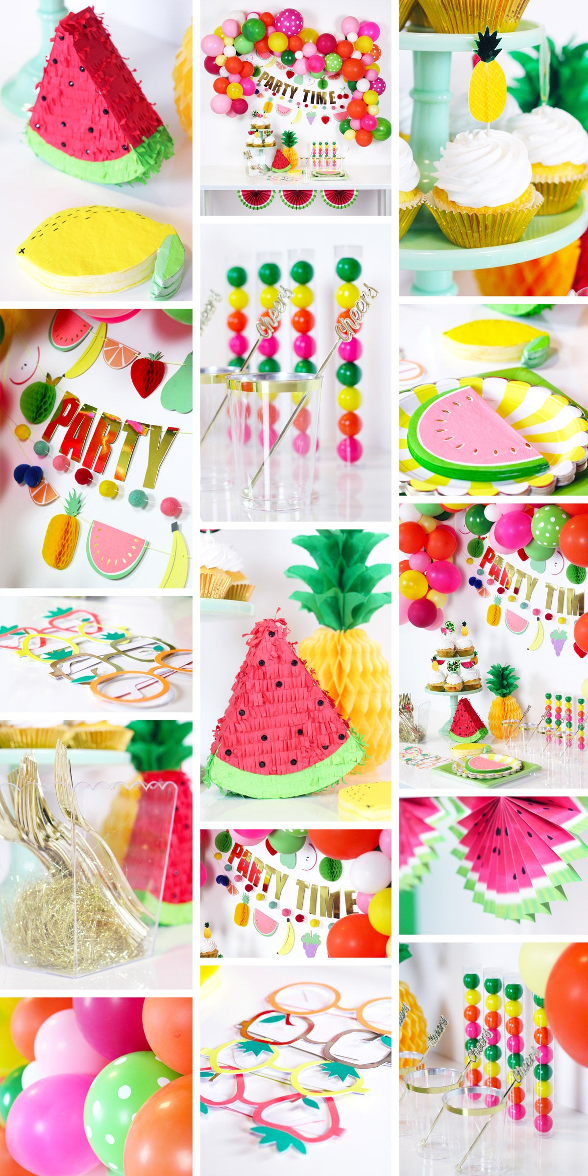 Tutti Frutti Summer Party Ideas -- Zurchers
