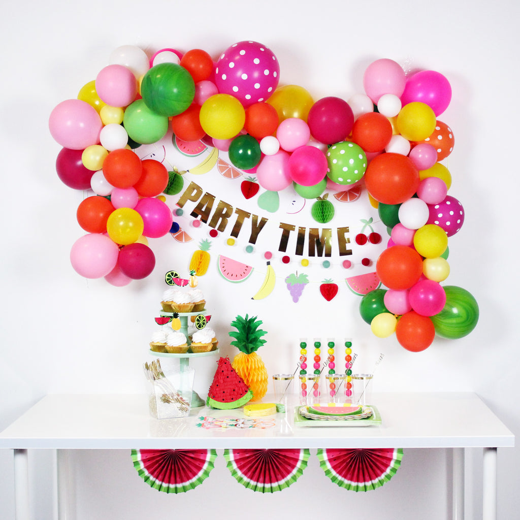 Tutti Frutti Party Ideas - Zurchers