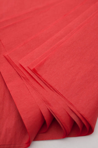 "Red Tissue Paper 20"" x 20"" 