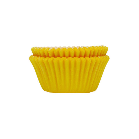 Yellow Extra Strong Standard Baking Cups | 32 ct