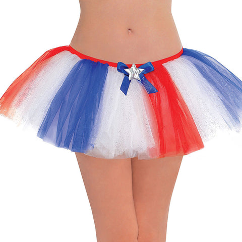 Red, White & Blue Adult Tutu | 1 ct