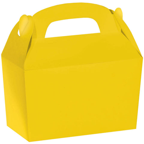 Sunshine Yellow Gable Box | 1 ct