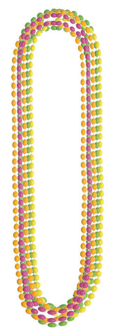 30in Neon Multi-Bead Necklace