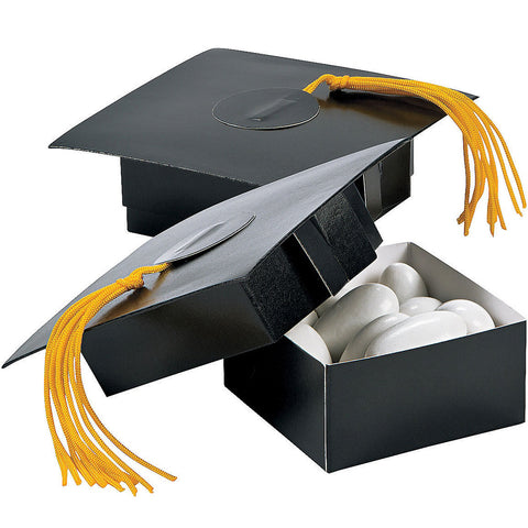 Graduation Cap Treat Boxes | 6ct
