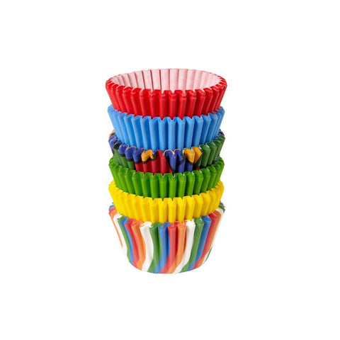 Primary Mini Baking Cups |150 ct