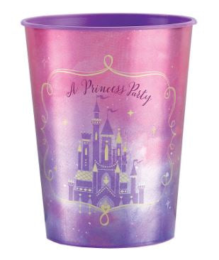 Disney Princess Once Upon a Time Plastic Cup 16oz | 1ct