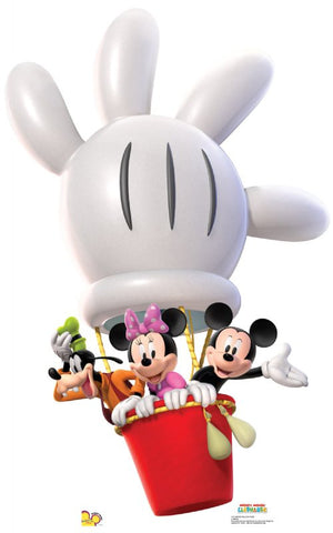 Mickey Mouse Balloon Ride Lifesize Standup