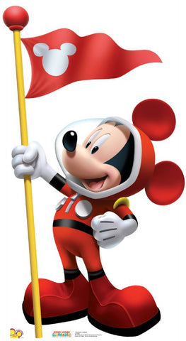 Mickey Mouse In Space Lifesize Standup
