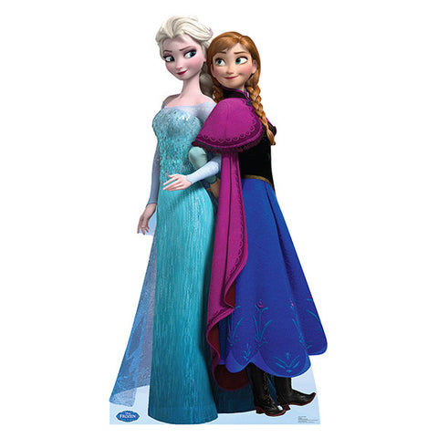 Disney's Frozen, Elsa and Anna Lifesize Standup | 1 ct