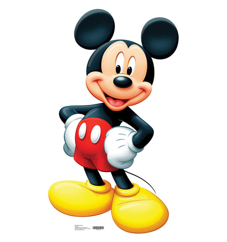 Mickey Mouse Lifesize Standup
