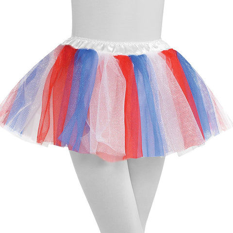 Childs Red, White & Blue Tutu | 1 ct