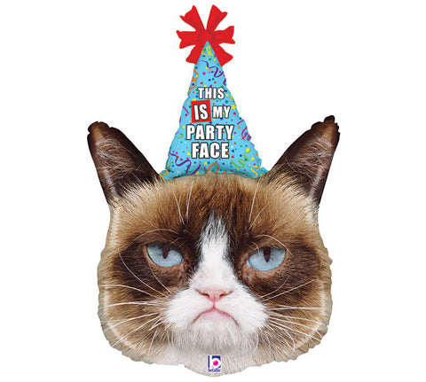 Grumpy Cat Supershape Mylar Balloon | 1 ct