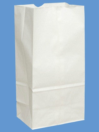 Large White Paper Sack | 1ct
