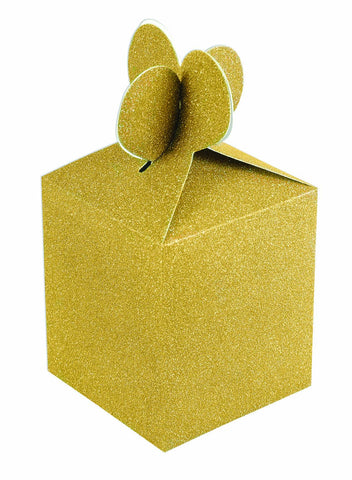 Gold Diamond Gift Box, 4'' | 2 ct