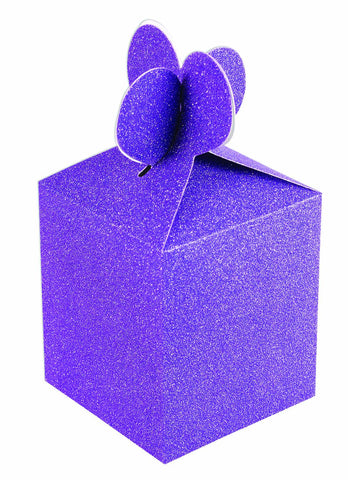 Purple Diamond Gift Box, 4'' | 2 ct