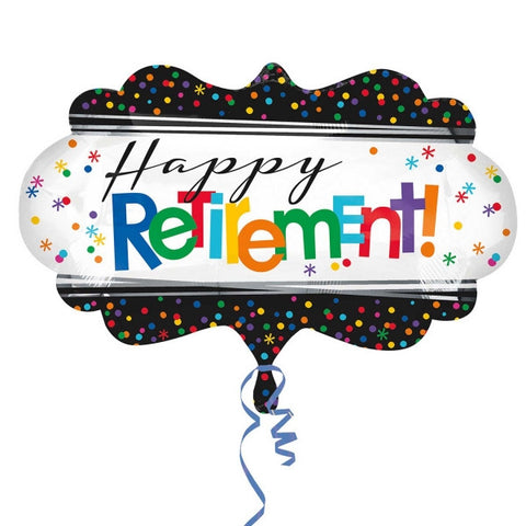 Officially Retired Supershape Mylar Balloon | 1 ct