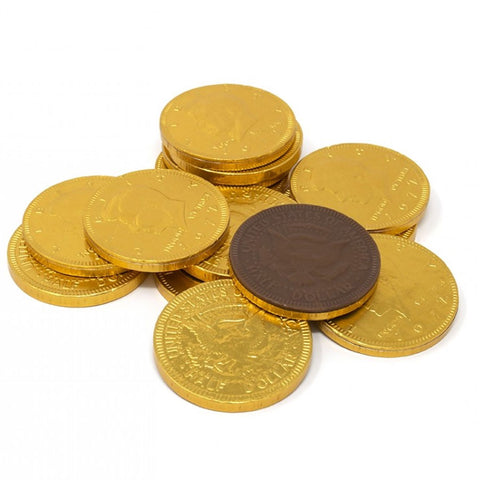 Fort Knox Gold Chocolate Coins 1.5"
