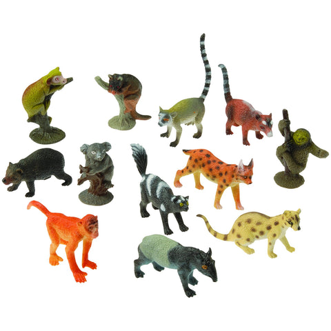 Rainforest Animals | 12ct