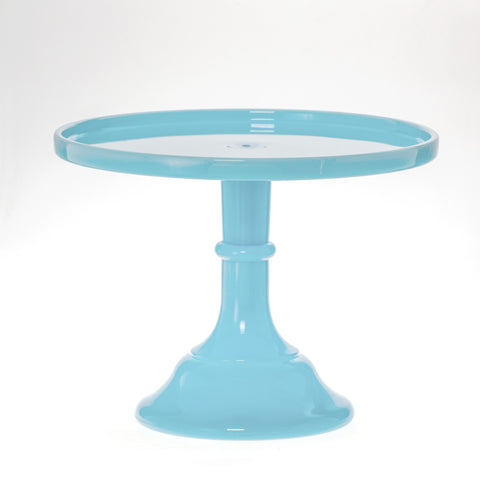 Cake Plate, Robin's Egg Blue, 9'' | 1 ct