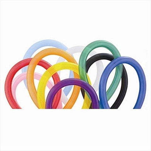 Latex 260-Q Standard Assorted Balloons  | 100ct
