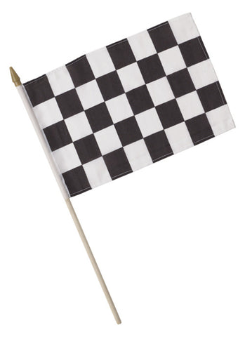 "Checkered Flag, 8"" x 12"" 