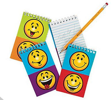 Smiley Face Spiral Notebook |1 ct
