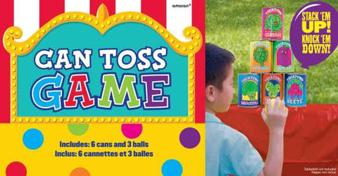 Can Toss Game | 9 Pieces