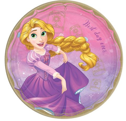 Disney Princess Rapunzel Lunch plates | 8ct