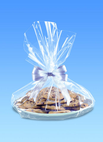 Cellophane Cookie Tray Bags - Clear | 6ct