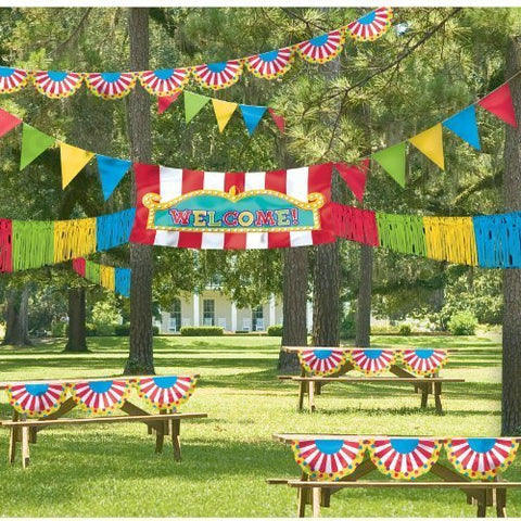Giant Outdoor Carnival Banner Kit