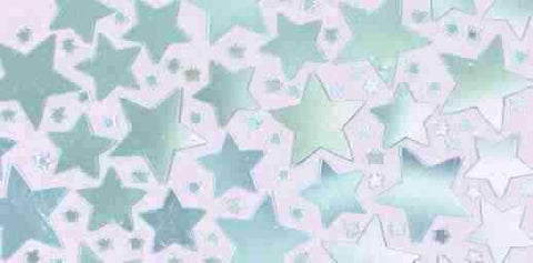 Metallic Silver Star Confetti | 2.5 Oz.