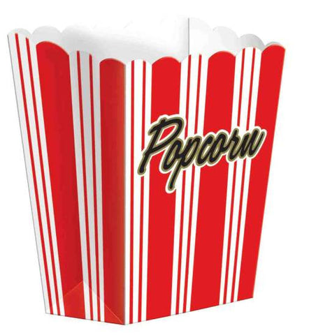 Hollywood Large Popcorn Boxes | 8ct