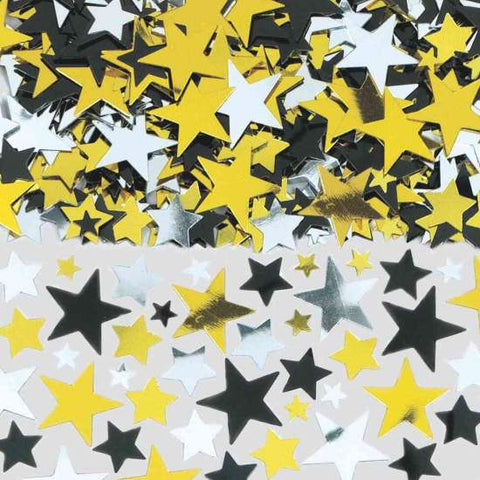 Hollywood Stars Metallic Confetti | 2.5 Oz.