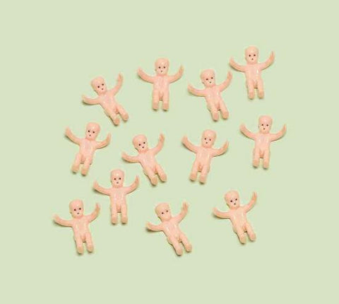Tiny Baby Favor Charms | 12ct