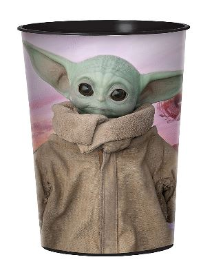 The Mandalorian: The Child Plastic Favor Cup 16oz | 1ct