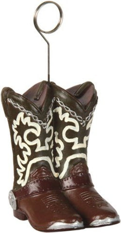 Balloon Weight, Cowboy Boots | 1 ct