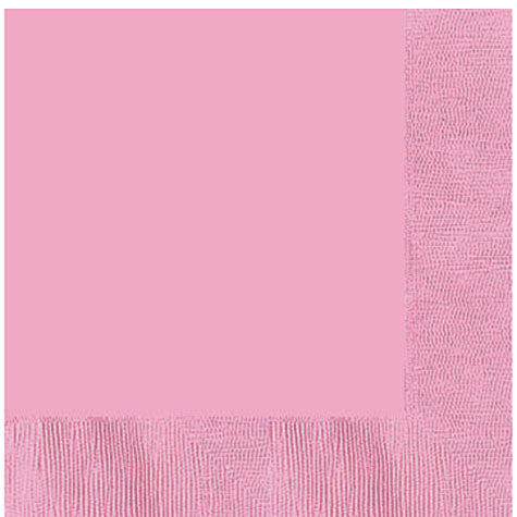 New Pink Dinner Napkins | 20ct