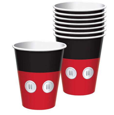 Mickey Mouse Paper cups 9oz | 8ct
