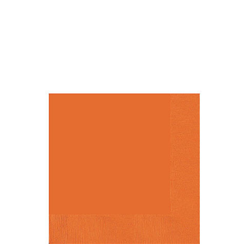 Orange Peel Beverage Napkins | 50ct