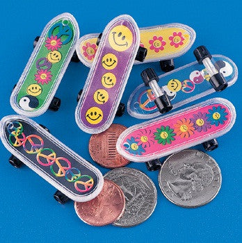 60's Mini Skateboards | 36ct