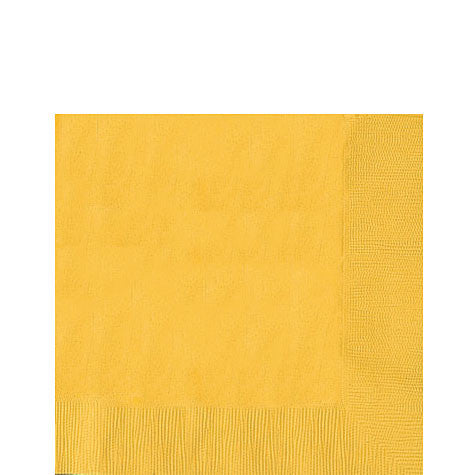 Yellow Sunshine Lunch Napkins | 50ct