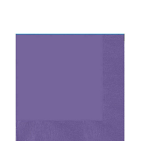 New Purple Lunch Napkins | 50ct