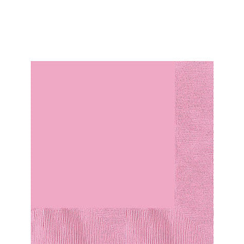 New Pink Lunch Napkins | 50ct