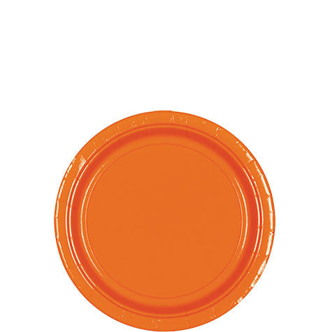 Orange Peel 7'' Paper Plates | 20ct