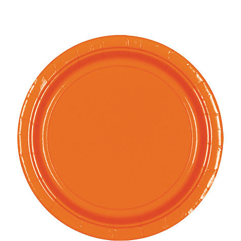 Orange Peel 9'' Paper Plates | 20ct