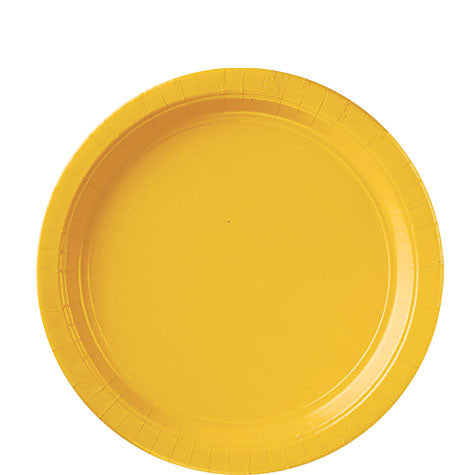 Yellow Sunshine 9'' Paper Plates | 20ct