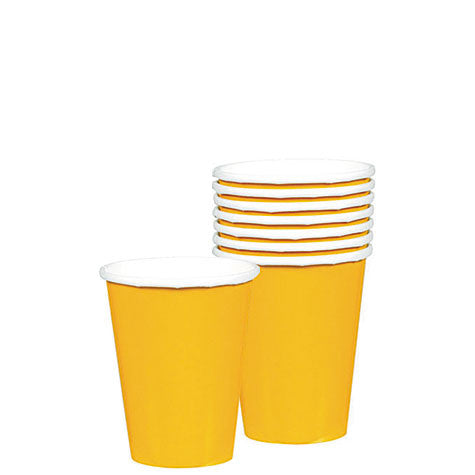 Yellow Sunshine 9 oz. Cups | 20ct