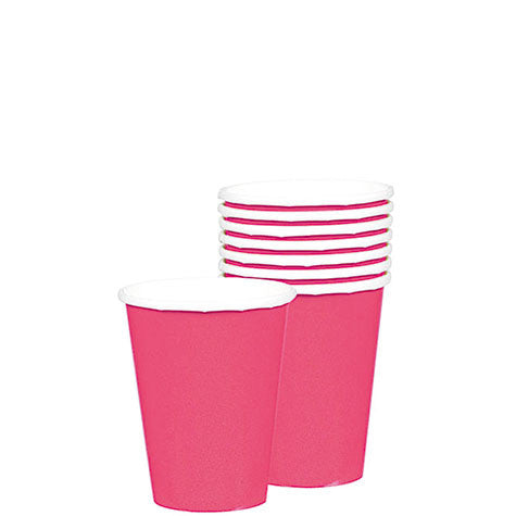 Bright Pink 9 oz. Cups | 20ct
